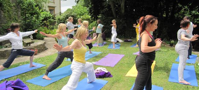 Yoga Glastonbury